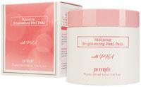 """Petitfee """"Hibiscus Brightening Peel Pads"""" Выравнивающие подушечки с гибискусом и PHA-кислотами, 70 шт."""