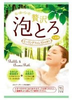 """COW """"Целительный лес"""" Ароматическая пенящаяся соль для ванны, с коллагеном и гиалуроновой кислотой, 1 пакет * 30 гр."""
