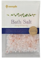 "Kokubo ""Bath Salt Novopin Natural Salt"" Гималайская розовая соль и морская соль из залива Шарк-Бэй для принятия ванны, 1 пакет * 50 гр."