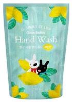 """Mukunghwa """"Gaspard et Lisa"""" Пенящееся крем-мыло для рук. с увлажняющим и антибактериальным эффектом, с ароматом лимона, сменная упаковка, 200 мл."""