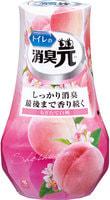 "Kobayashi ""Shoshugen for Toilet White Peach"" Жидкий дезодорант для туалета, с ароматом спелого персика, 400 мл."