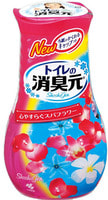 "Kobayashi ""Shoshugen for Toilet Spa Flower"" Жидкий дезодорант для туалета, с расслабляющим ароматом спа-цветов, 400 мл."