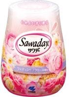 """Kobayashi """"Sawaday for Toilet Wedding Flower"""" Гелевый дезодорант для туалета, с ароматом свадебного букета, 140 г."""