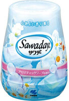 """Kobayashi """"Sawaday for Toilet Aromatic Soap"""" Гелевый дезодорант для туалета, с нежным ароматом цветочного мыла, 140 г."""