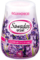 "Kobayashi ""Sawaday for Toilet Lavender"" Гелевый дезодорант для туалета, с ароматом лаванды, 140 г."