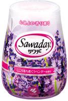 "Kobayashi ""Sawaday for Toilet Lavender"" Гелевый дезодорант для туалета, с ароматом лаванды, 140 г."