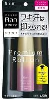 """Lion """"Ban Premium Gold Label"""" Премиальный дезодорант-антиперспирант роликовый, нано-ионный, без аромата, 40 мл."""