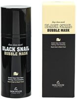 "The Skin House ""Black Snail Bubble Mask"" кислородная очищающая маска с муцином черной улитки, 100 мл."