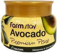 "FarmStay ""Avocado Premium Pore Cream"" антивозрастной крем с авокадо, 100 г."