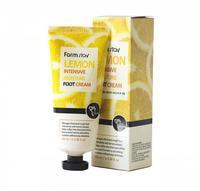 "FarmStay ""Lemon Intensive Moisture Foot Cream"" Крем для ног увлажняющий с экстрактом лимона, 100 мл."
