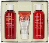 "FarmStay ""Collagen Essential Moisture Skin Care"" набор средств по уходу за кожей с коллагеном, 3 средства."