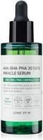 "Some By Mi ""AHA-BHA-PHA 30 Days Miracle Serum"" сыворотка с AHA/BHA/PHA кислотами для проблемной кожи, 50 мл."