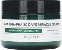 "Some By Mi ""AHA-BHA-PHA 30 Days Miracle Cream"" крем с AHA/BHA/PHA кислотами для проблемной кожи, 60 г."