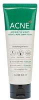 "Some By Mi ""AHA-BHA-PHA 30 Days Miracle Acne Clear Foam"" очищающая пенка для проблемной кожи с кислотами, 100 мл."