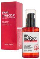 """Some By Mi """"Snail Truecica Miracle Repair Serum"""" сыворотка для интенсивной регенерации кожи с муцином улитки и комплексом растительных экстрактов, 50 мл."""