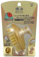 "Ikemoto ""Head Spa Tsubaki Oil"" Shampoo Brush Щетка массажная и очищающая, с маслом камелии."