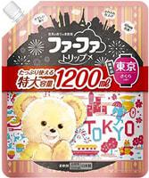 """Nissan """"FaFa Tokyo"""" Кондиционер концентрированный для белья, с ароматом цветущей сакуры, мягкая упаковка с крышкой, 1200 мл."""