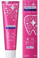 """KAO """"Clear Clean Premium Whitening"""" Премиальная отбеливающая и освежающая зубная паста, с элегантным мятным ароматом, 100 гр."""