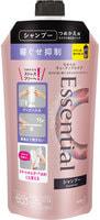 """KAO """"Essential Smart Style"""" Шампунь для волос, для легкого расчесывания и укладки по утрам, с аква-цветочным ароматом, мягкая упаковка, 340 мл."""