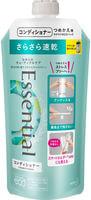 """KAO """"Essential Smart Blow Dry"""" Кондиционер для защиты волос при сушке феном, с освежающим аква-цветочным ароматом, мягкая упаковка, 340 мл."""