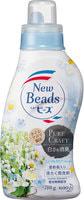 """KAO """"New Beads Pure Craft"""" Мягкий гель для стирки белья """"Травяной фреш"""", с ароматом ландыша и ромашки, бутылка с колпачком-дозатором, 780 гр."""
