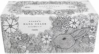 """Nepia """"Adult Hana-Celeb Tissue"""" Трехслойные бумажные салфетки, белые, без аромата, в коробке для раскрашивания, 150 шт."""
