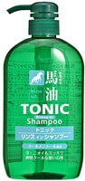 "Cosme Station ""Horse Oil Tonic Rinse in Shampoo"" Тонизирующий шампунь-кондиционер для мужчин, с лошадиным маслом и ароматом ментола, 600 мл."