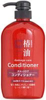 """Cosme Station """"Tsubaki Oil Damage Care Conditioner"""" Кондиционер для ухода за поврежденными волосами, с натуральным маслом камелии, 600 мл."""