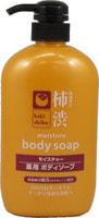 """Cosme Station """"Kakishibu Moisture Body Soap"""" Жидкое мыло для тела, увлажняющее, с экстрактом хурмы, 600 мл."""