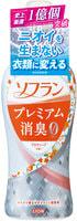 """Lion """"Soflan Premium Deodorizer Zero"""" Кондиционер для белья защищающий от неприятного запаха, натуральный аромат цветочного мыла, 550 мл."""