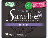 """KOBAYASHI """"Sara-li-e"""" ежедневные гигиенические прокладки без запаха, 72 шт."""