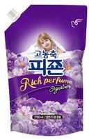 """Pigeon Кондиционер для белья """"Rich Perfume Signature"""" - парфюмированный супер-концентрат с ароматом """"Тайны дождя"""", сменная упаковка, 1,6 л."""