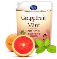 Mukunghwa Жидкость для мытья посуды, с ароматом грейпфрута и душистых трав, 1,2 л.