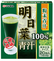 """Yuwa """"Анжелика КейсКей 100%"""" Порошковый зелёный сок-концентрат из невероятно полезного растения, 20 шт. по 2,5 гр."""