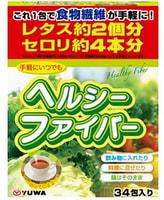 """Yuwa """"Здоровые волокна"""" Клетчатка для лёгкого использования в любое время, 34 шт. по 5 гр."""