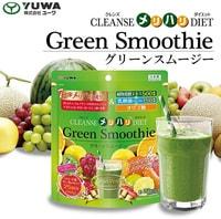 """Yuwa """"Зеленый смузи"""" Очищающая диета для стройности - семь диетических компонентов, яблочно-ягодный вкус, 150 гр. - на 25 порций."""