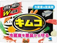 """Kobayashi """"Kimco Refrigerator Deodorizer"""" Желеобразный дезодорант с древесным углем для основной камеры холодильника, 113 гр."""
