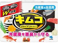 """Kobayashi """"Kimco Giant Refrigerator Deodorizer"""" Желеобразный дезодорант с древесным углем для основной камеры больших холодильников, 162 гр."""