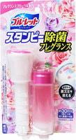 """Kobayashi """"Bluelet Stampy Floral"""" Дезодорирующий очиститель-цветок для туалетов, с нежным ароматом роз, 28 гр."""