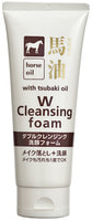 """Cosme Station """"Horse Oil W Cleansing Foam"""" Пенка для умывания и удаления макияжа, с лошадиным жиром и маслом камелии, 130 гр."""