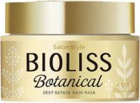 """Kose Cosmeport """"Bioliss Botanical Deep Repair"""" Hair Маска для глубокого восстановления поврежденных волос, 200 гр."""