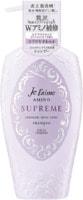 """Kose Cosmeport """"Je l'aime Amino Supreme Cashmere"""" Увлажняющий шампунь для поврежденных волос, с нежным ароматом розы и жасмина, 500 мл."""