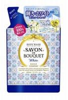 """Kose Cosmeport """"Savon De Bouquet"""" Освежающее мыло на растительной основе, с фруктово-цветочным ароматом, сменная упаковка, 400 мл."""