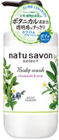"""Kose Cosmeport """"Softymo Natu Savon Body Wash Refresh"""" Жидкое мыло для тела освежающее, с натуральными ингредиентами, с ароматом ромашки и груши, 500 мл."""