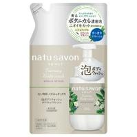 """Kose Cosmeport """"Softymo Natu Savon Foam Body Wash"""" Мыло-пенка для тела увлажняющее, с растительными ингредиентами, с ароматом юдзу, яблока и пиона, сменная упаковка, 350 мл."""