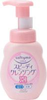 """Kose Cosmeport """"Softymo Speedy Cleansing Foam"""" Очищающая пенка для умывания и удаления макияжа, с цветочно-фруктовым ароматом, 200 мл."""