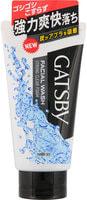 """Mandom """"Gatsby Facial Wash Strong Clear Foam"""" Мужская пенка для умывания с угольной пудрой, с освежающим цитрусовым ароматом, 130 гр."""