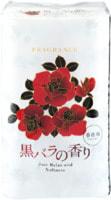 """Shikoku Tokushi """"Just Relax and Softness Black Rose"""" Парфюмированная туалетная бумага, 2-х слойная, с элегантным ароматом черной розы, 12 рулонов по 30 м."""