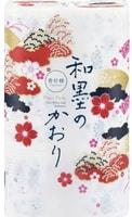 """Shikoku Tokushi """"Waboku-no-Kaori"""" Парфюмированная туалетная бумага, 2-х слойная, с ароматом натуральных эфирных масел, 12 рулонов по 32 м."""