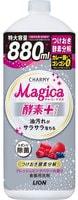 """Lion """"Charmy Magica+"""" Средство для мытья посуды, концентрированное, аромат свежих ягод, 880 мл."""
